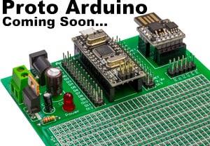 Arduino Nano or ATTiny 85 Prototype Board - Coming Soon
