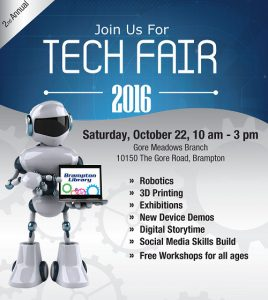 Brampton Library Tech Fair 2016