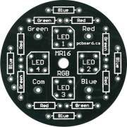 LED MR16 RGB Bare Board