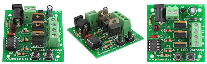 LED Rainbow RGB LED Controller