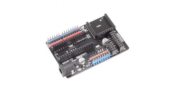 Arduino Nano V3 I O And Wireless Expansion Shield