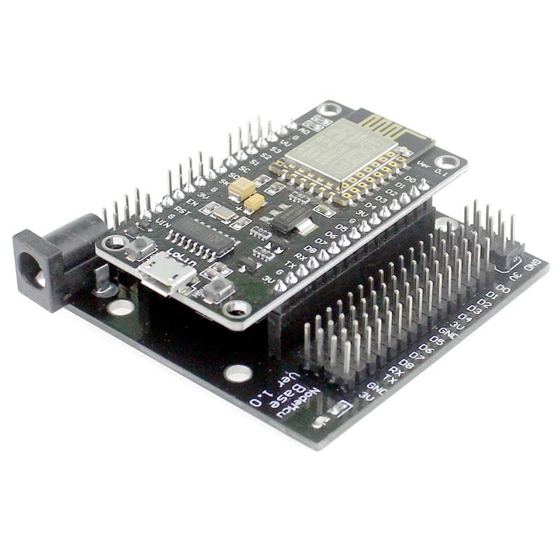 Node MCU Base ESP8266 Development Breadboard for NodeMcu
