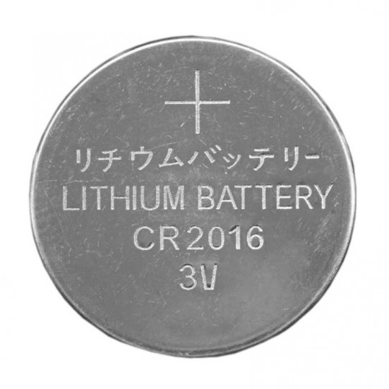 CR2016 3V Lithium Button Cell Battery