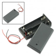 2 AA Battery Holder with Switch