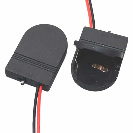 CR2032 Plastic Holder with Switch