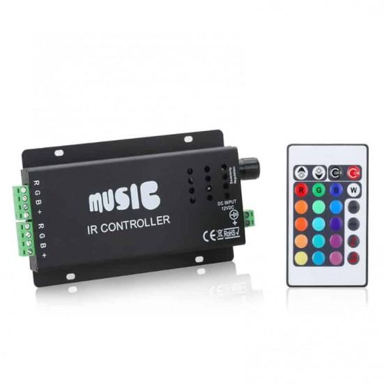 108 watt LED Music Controller