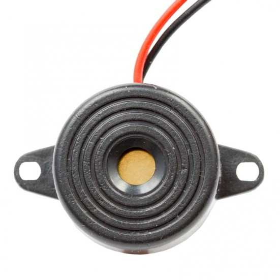Piezo Buzzer with Power Leads