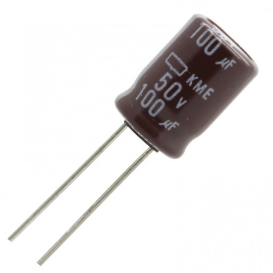 100uf / 50v Electrolytic Capacitor