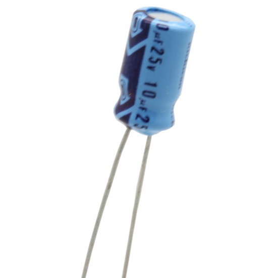 10uf / 25v Electrolytic Capacitor