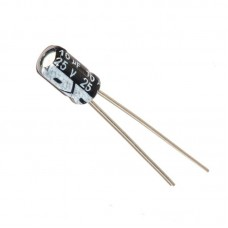 10uF 25v Electrolytic Capacitor