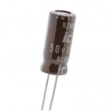 10uF / 50v 105° Electrolytic Capacitor