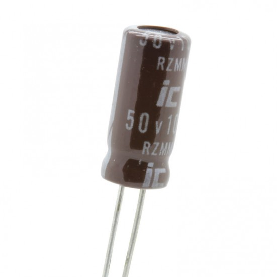10uF / 50v 105° Electrolytic Capacitor