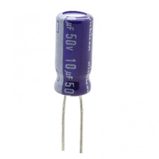 10uf / 50v Electrolytic Capacitor