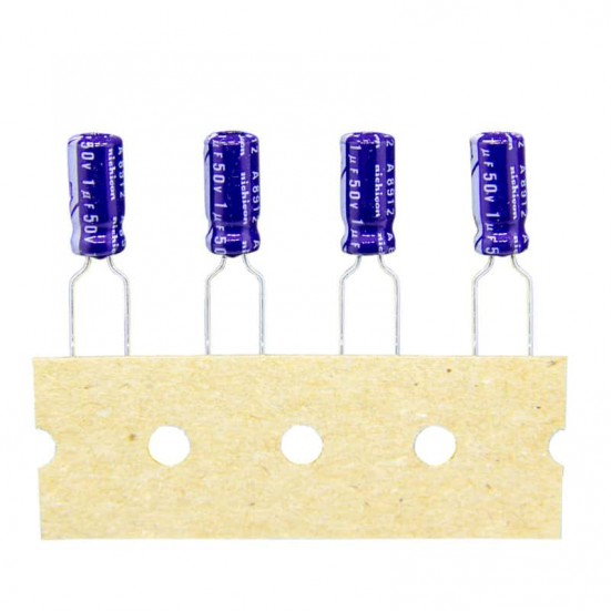 1uf / 50v Electrolytic Capacitor