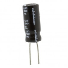 33uf / 50v Electrolytic Capacitor