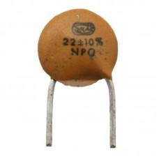 22pf / 63v Ceramic Disc Capacitor