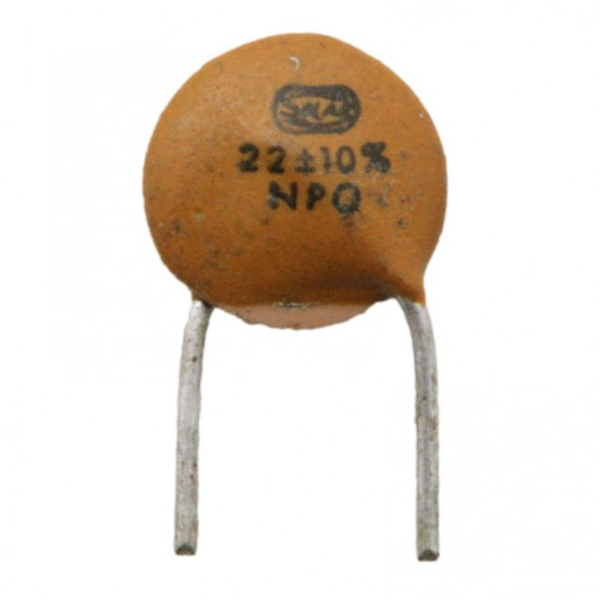 22pf / 63v Ceramic Disc Capacitor
