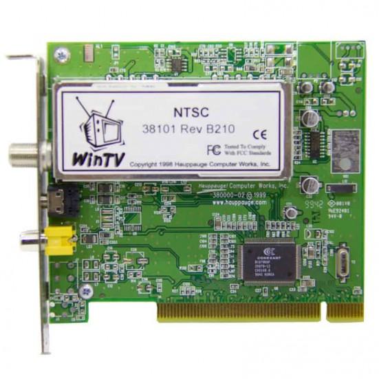 Hauppauge WinTV TV Tuner Card NTSC 38101 Rev B210