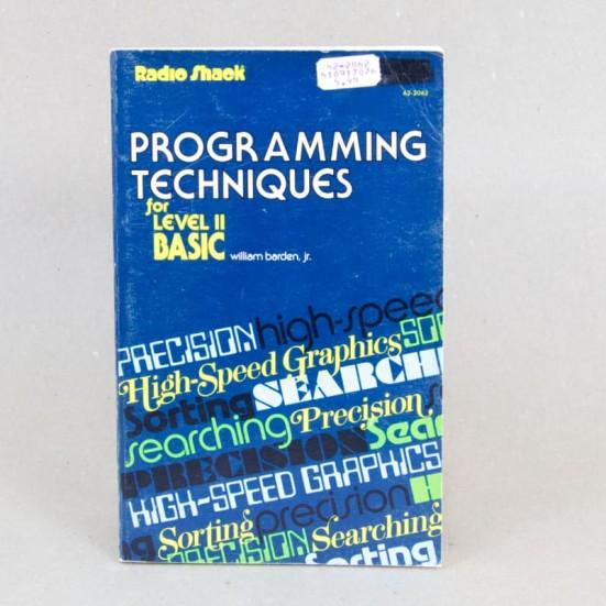 Programming Techniques for Level II Basic