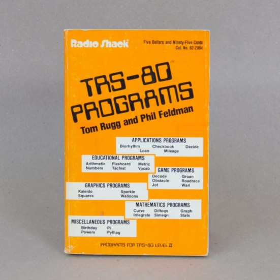 TRS-80 Programs