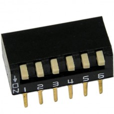 6 Position DIP Switch