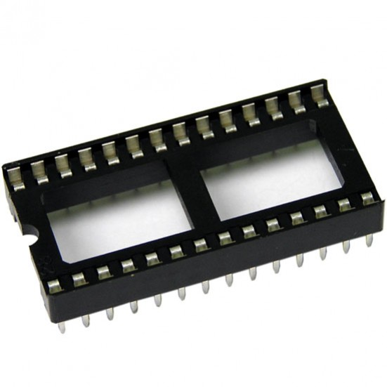 28-Pin IC Socket Wide