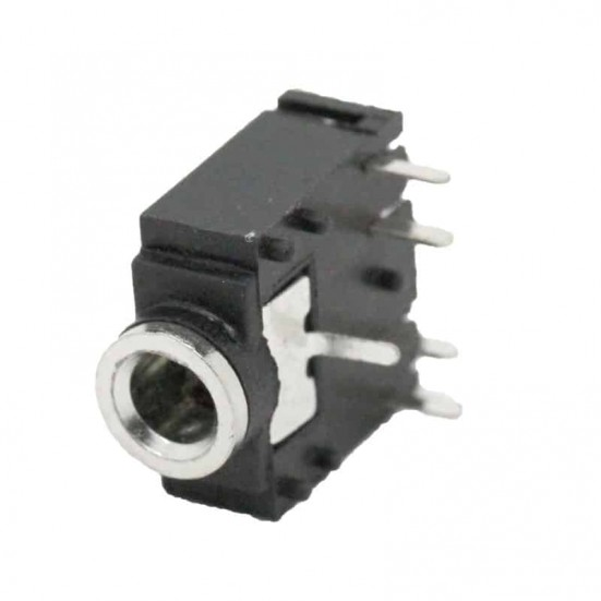 3.5mm PCB Mount Stereo Socket Connector