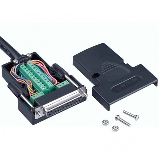 DB25 Female Breakout Adapter
