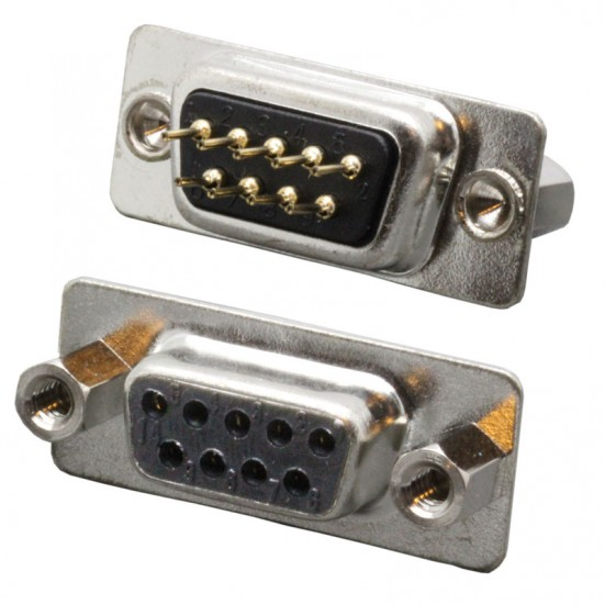 D-Sub Connector - DB9 Female - 9-Pin