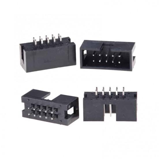 IDC 2x5 (10-Pin) Male PCB Mount