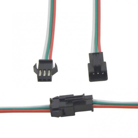 3-Pin JST SM Connector Set