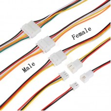 JST XH 2.54 5-Pin Cable Set