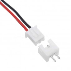 JST XH 2.54 2-Pin Connector Set
