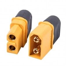 XT60H High Current Connector Set with Sheath Pin Covers