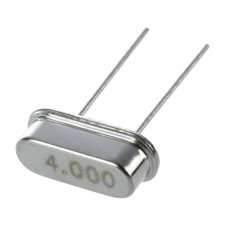 4MHz Crystal Oscillator In HC-49S Low Profile Case
