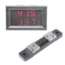 Digital Voltmeter / Ammeter 50A