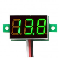 Three Digital Volt Meters