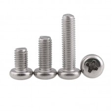 Screw - M2, M2.5, M3 and M4 Pan Head (Metric - Stainless)