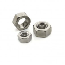 Hex Nut in M2, M2.5, M3 and M4 (Metric - Stainless)