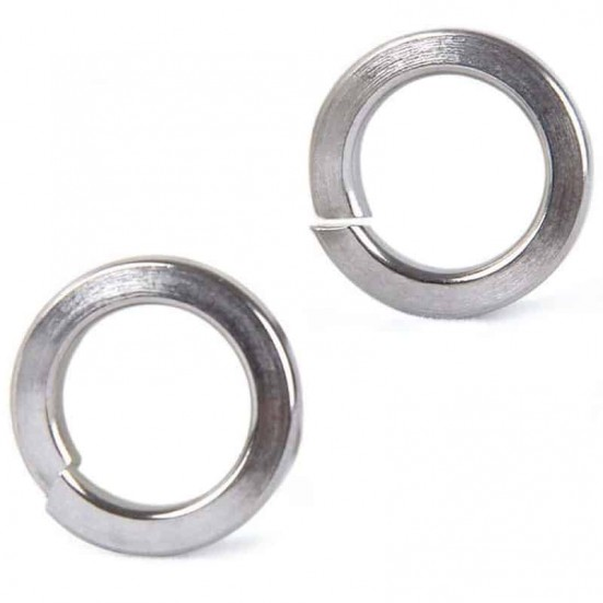 Split Spring Lock Washer M4 (Metric - Stainless)