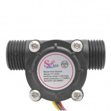 Water Flow Sensor YF-S201 (Black)