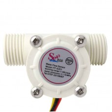 Water Flow Sensor YF-S201 (White)
