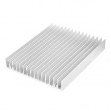 LED Heatsink 120x100x18 mm