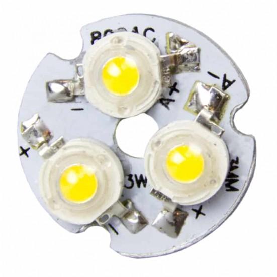 23mm 4-LED Aluminum Plate PCB