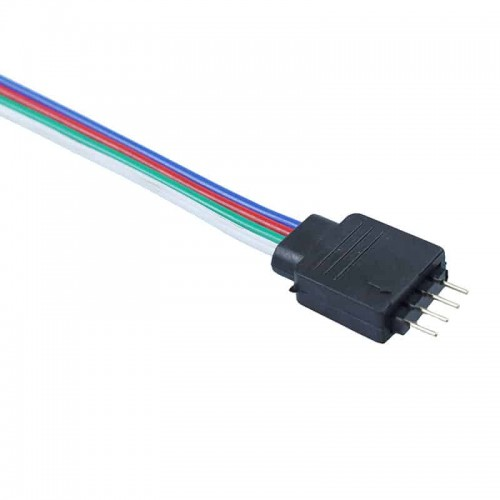 4 pin connector male to male for 3528 and 5050 LED Light Strips 5pc