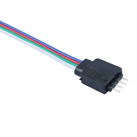 Male 4-Pin Connector Cable for LED Strips