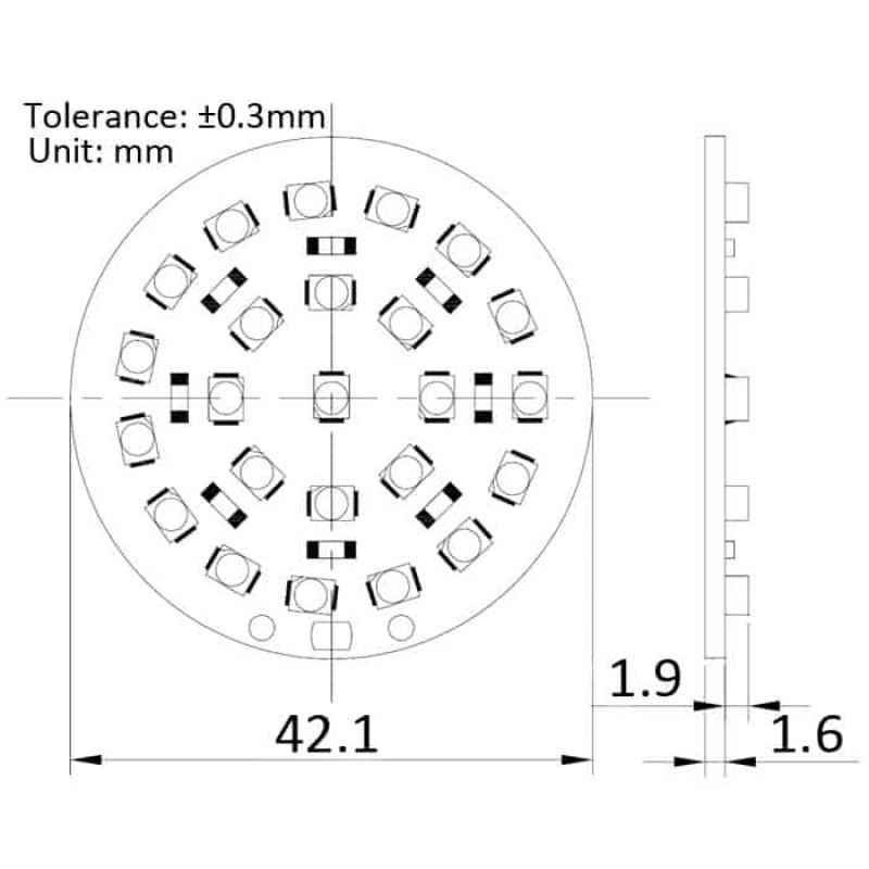 Led Flashlight Circuit Diagram