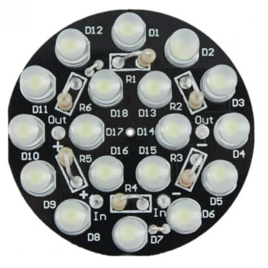 DIY IR 18-LED SpotLight jr Kit
