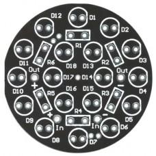 LED SpotLight jr: 18-LED PCB