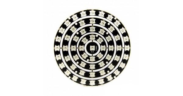 61-LED NeoPixel Ring Set Based on WS2812